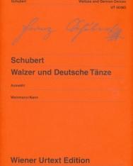 Franz Schubert: Waltzes, German Dances - zongorára