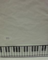 Szalvéta - zongorabillentyűs (20 db./csomag, 16*16)