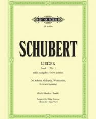 Franz Schubert: Lieder I. hohe (neue Ausgabe)