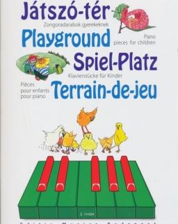 Játszó-tér - zongoradarabok gyerekeknek