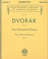 Antonin Dvorák: Four Romantic Pieces for Violin and Piano