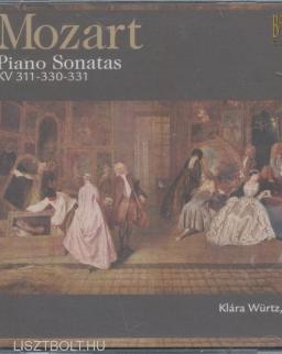Wolfgang Amadeus Mozart: Piano Sonatas K. 311,330,331