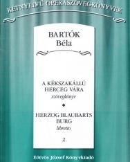 Bartók Béla: A Kékszakállú vára - szövegkönyv (kétnyelvű, magyar-német)