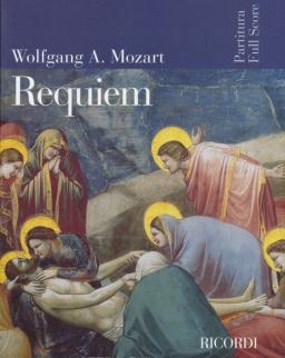 Wolfgang Amadeus Mozart: Requiem - partitúra