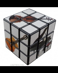 Bűvös kocka - hangszeres (6X6 cm)