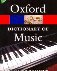 Oxford Dictionary of Music - Sixth Edition