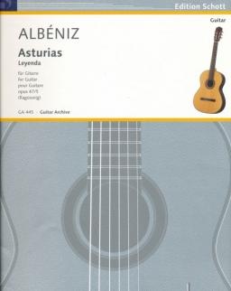 Isaac Albéniz: Asturias op. 47/5 - gitárra
