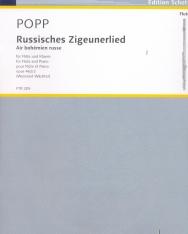 Wilhelm Popp: Russisches Zigeunerlied - fuvolára, zongorakísérettel