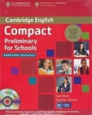 Compact Preliminary for Schools Pack - Student's Book with CD-ROM, Workbook with CD