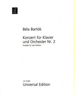 Bartók Béla: Concerto for piano 2. (2 zongora)