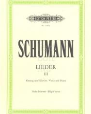 Robert Schumann: Lieder III. (mittlere)