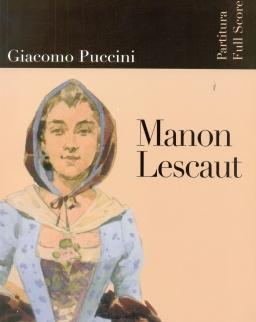 Giacomo Puccini: Manon Lescaut - partitúra