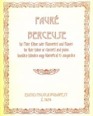 Fauré: Berceuse fuvolára vagy klarinétra vagy oboára zongorakísérettel