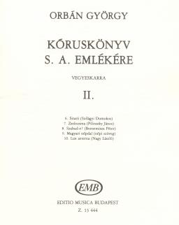 Orbán György: Kóruskönyv II.