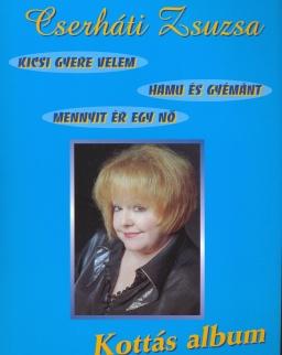 Cserháti Zsuzsa kottás album (gitár-ének)