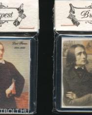 Hűtőmágnes - Liszt Ferenc (kézműves)