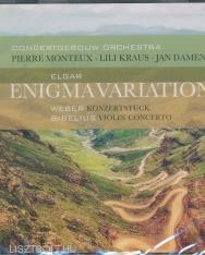 Elgar: Enigma Variations, Weber: Konzertstück for Piano, Sibelius: Violin Concerto