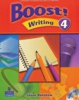 Boost! Writing 4 Student's Book with Audio CD