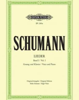 Robert Schumann: Lieder I. hohe