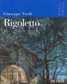 Giuseppe Verdi: Rigoletto - partitúra