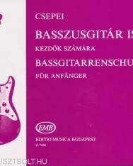 Csepei Tibor: Basszusgitár iskola 1.