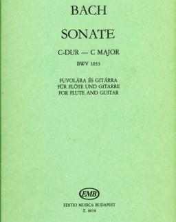 Johann Sebastian Bach: Sonate C-dúr (fuvola-gitár)