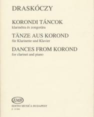 Draskóczy László: Korondi táncok klarinétra