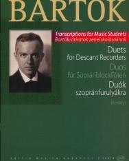 Bartók Béla: Duók szopránfurulyákra
