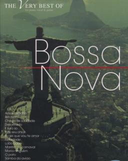 The Very Best of Bossa Nova - ének-zongora-gitár