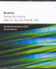 Brahms: Songs for Chorus