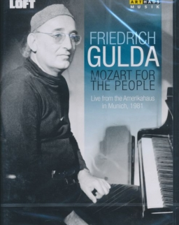 Friedrich Gulda: Mozart for the People - DVD (Live from the Amerikahaus in Munich, 1981)
