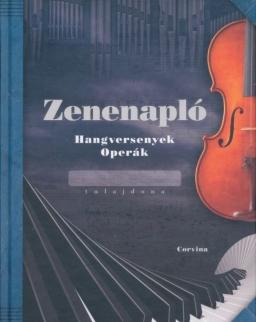 Zenenapló - Hangversenyek, operák