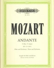 Wolfgang Amadeus Mozart: Andante K. 315 - fuvolára