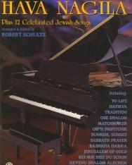 Hava Nagila - 12 Jewis Songs (zongora, ének, gitár)