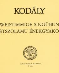Kodály Zoltán: 66 kétszólamú énekgyakorlat