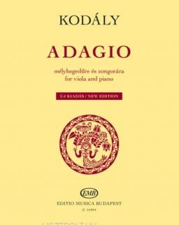Kodály Zoltán: Adagio (brácsa+zongora)