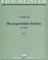 C. Kopprasch: 60 Etüd kürtre I.