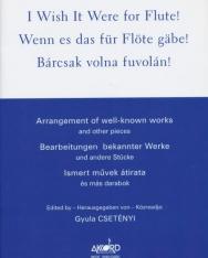 Bárcsak volna fuvolán! - ismert művek átirata és más darabok (Csetényi Gyula)