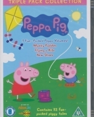 Peppa Pig Triple Pack Collection DVD - Muddy Puddles, Flying a Kite, New Shoes
