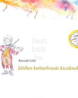 Bosnyák Csilla: Játékos kottaolvasás kicsiknek 2. (illusztrált munkafüzet matricákkal)