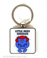 Little Miss Giggles Keyring