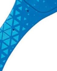 Flexilight Blue Geometrical könyvjelző olvasólámpa