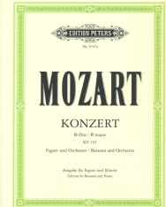 Wolfgang Amadeus Mozart: Concerto for Bassoon K.191
