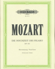 Wolfgang Amadeus Mozart: Le nozze di Figaro - zongorakivonat (német, olasz)