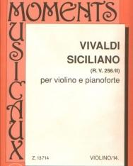 Antonio Vivaldi: Siciliano hegedűre