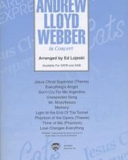 Andrew Lloyd Webber in Concert - Híres musical-számok kórusátirata SATB, SAB