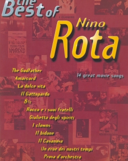 Nino Rota: Best of (ének-zongora-gitár)