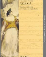 Vincenzo Bellini: Norma - zongorakivonat (olasz)