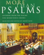 More than Psalms - Anthems from the Psalms for mixed Choir