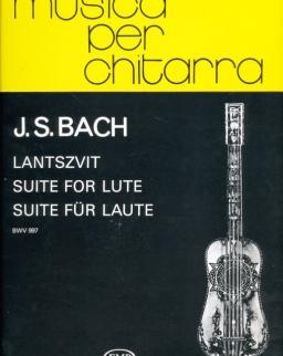 Johann Sebastian Bach: Lantszvit  BWV 997 gitárra